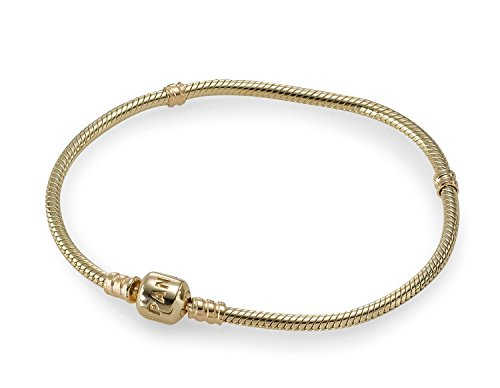 PANDORA 550702 14K Gold Barrel