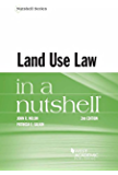 Land Use Law in a Nutshell (Nutshells)