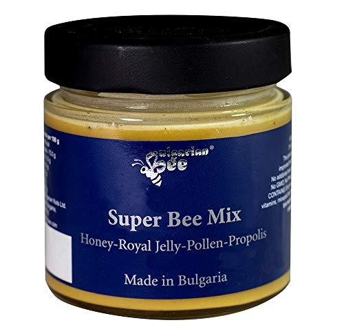 500 g Rauwe Honing Bevat Bijenpollen, Bijenwas, Propolis en Koninginnengelei, ongefilterd, niet gecentrifugeerd of…