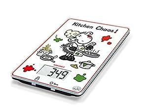 Leifheit 66194 b scula cocina digital kitchen caos for Bascula cocina amazon