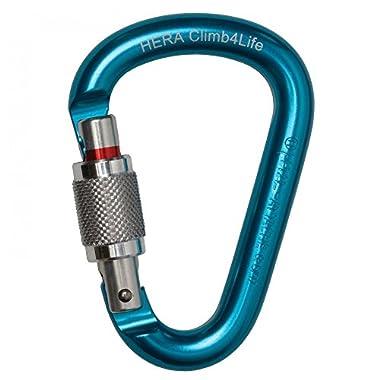 Petzl HERAbiner Attache Screw Lock Carabiners