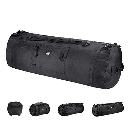 Ultralight Waterproof Portable Adjustable Travel Duffel Bag With Reflector For Outdoor Sports by NEW LABS