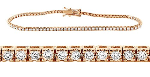 Diamond 18k Gold Bracelet - 6