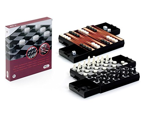 AJEDREZ-DAMAS-BACKGAMMON MAGNETICO