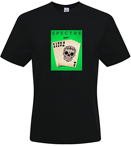DIY Men's Tshirts,Custom Spectre T-shirts,(Black X-Large)