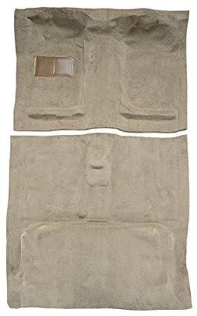 801-Black Plush Cut Pile ACC Carpet Kit Compatible with 2000 to 2004 Nissan Frontier Crew Cab Pickup Truck