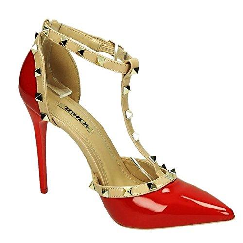 of pour Rouge Escarpins Shoes Femme King PqdwBpB