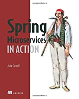 Spring Microservices in Action Front Cover