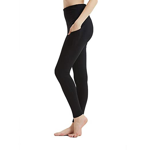 727d24a0b68a Yorks Sports Apparel Small Black High Waist Out Pocket Yoga Pants Tummy  Control Workout Running Stretch