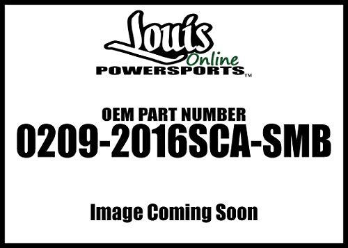 Performance Machine Black Ops Scallop Windscreen Trim 0209-2016SCA-SMB