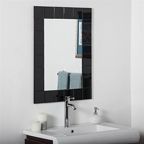 Decor Wonderland Montreal Bathroom Mirror in -