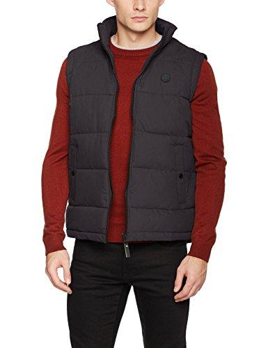 Homme Thwang solid 9000 Noir Jacket black Pull Sans Manche qa45FX4x