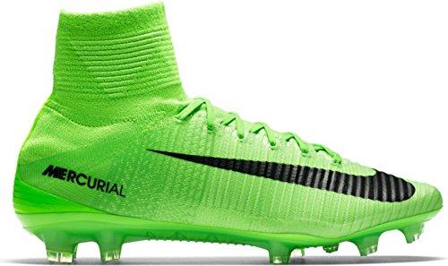 Nike Mercurial Superfly Uomini V Fg Scarpe Da Calcio, Multicolore Nero