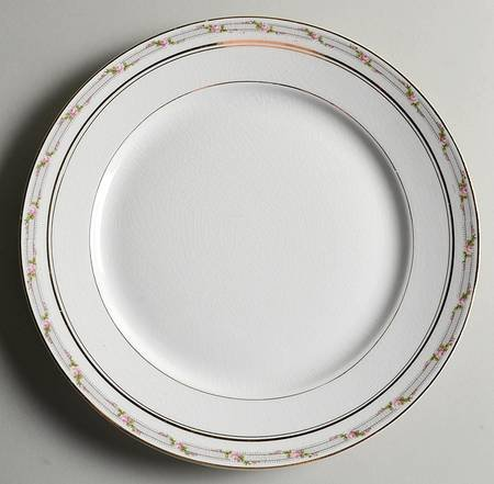 "Pope Gosser La Belle 7 3/8"" Dessert Pie Salad Plate"