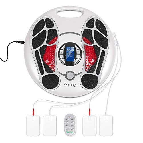 Great Foot Massager EMS Foot Circulation Device Foot Massager Machine for Neuropathy Therapy-Relieve Pain and Aching of Feet Legs Ankles,Improves Circulation. 2019