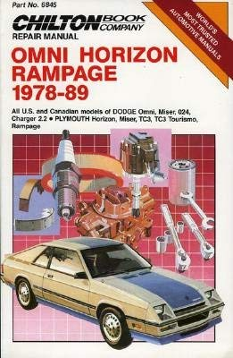 Omni/Horizon Rampage, 1978-89 (Chilton's Repair - Dodge 1978 Van