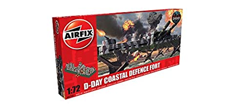 Airfix D-Day Coastal Defence Fort 1:72 Plastic Model Kit (Military Fort)