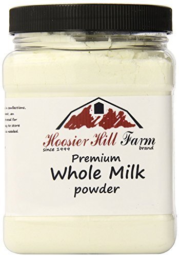 Hoosier Hill Farm All American Whole Milk Powder 2 LBS, Hormone Free, Gluten Free, Made in USA