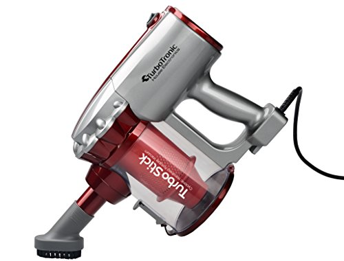 TurboTronic Aspirador ciclónico 2 en 1 600W Peso Ligero, Soporte de Pared, eficiencia energética Clase A, Filtro HEPA-Rojo (Red): Amazon.es: Hogar