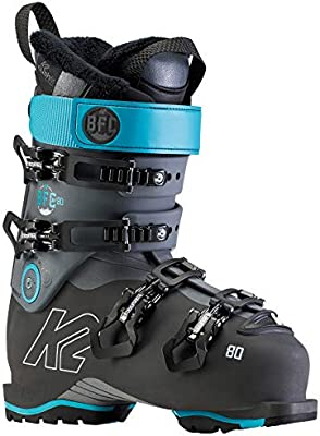 Botas de esqu/í para Mujer Color Gris y Azul K2 10D2600.1.1.245 BFC W 80