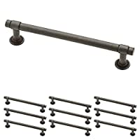"Franklin Brass P29618K-SI-B Straight Bar Pull, 5-1/16"" (128mm), Aged Iron, 10 Piece"