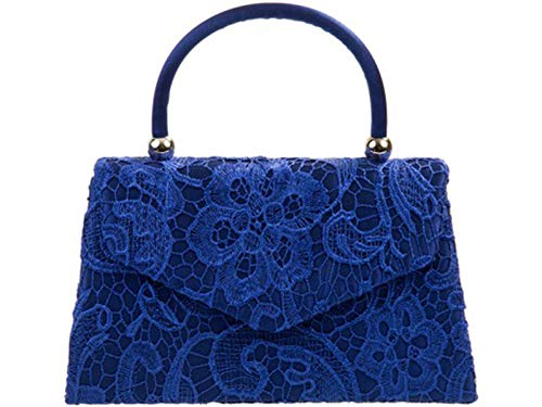 Navy Body Purser Handbag s Evening Cross LeahWard Wedding Top Lace Women's Clutch Bag Bags qwvExI7Ec6