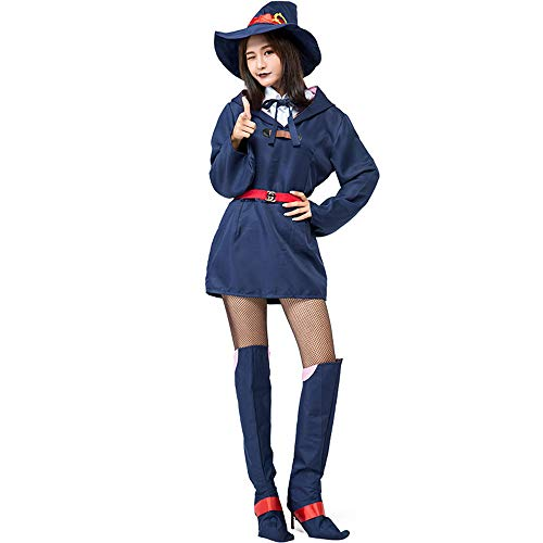 Honfill Novelty Magician Apprentice Costume with Shoe Covers ()