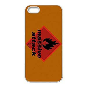 iPhone 4 4s Cell Phone Case Covers White Massive Attack F7630910