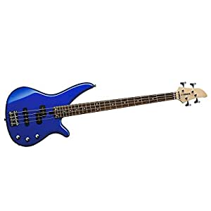 yamaha rbx170y 4 string electric bass guitar dark blue metallic musical instruments. Black Bedroom Furniture Sets. Home Design Ideas