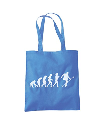 Evolution 'The 'The King' Blue Fashion Tote Evolution Shopper Bag Cornflower dxxPnF