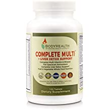 Complete Multi + Liver Detox Support (120 tablets). Complete Multivitamin in a base of 16 whole foods