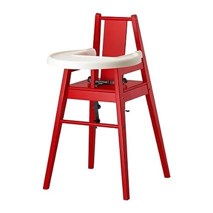 Ikea blames Trona con bandeja en rojo