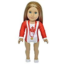 CANADIAN MAPLE LEAF GYMNASTICS FOR AMERICAN GIRL DOLLS