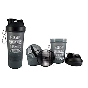 Allied Sales SG-004 Leather Gym Bag, 3in1 Protein Shaker and Gym Gloves with Wrist Support Combos