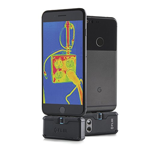 FLIR ONE Pro Thermal Imaging Camera for Android USB-C (Best Stud Finder App Android)