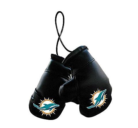 NFL Miami Dolphins Unisex NFL Mini Boxing Glovesnfl Mini Boxing Gloves, Team Logo/Colors, 4