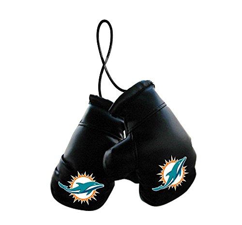 Fremont Die NFL Miami Dolphins Unisex NFL Mini Boxing Glovesnfl Mini Boxing Gloves, Team Logo/Colors, 4