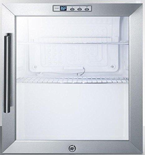 Summit SCR215L Beverage Refrigeration, Glass/White by Summit