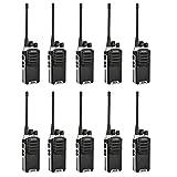 Baofeng BF-888S Plus UHF Walkie Talkie Long Distance Range Communication Two-Way Radios Upgrade Version Of BF-888S(10 pack)