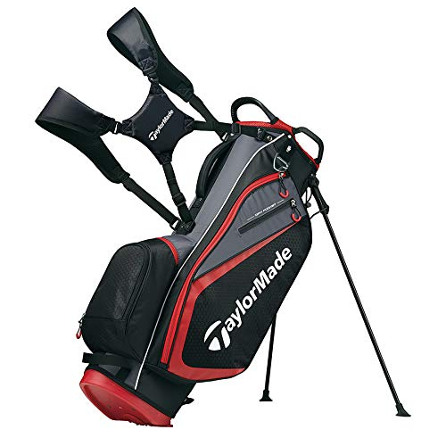 TaylorMade 2019 Golf Select Stand Bag, Black/Red by TaylorMade