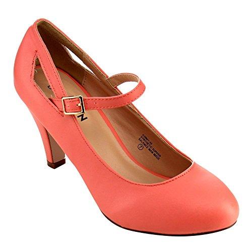 Coral Pink Heels Amazon Com
