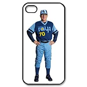 MLB iPhone 4,4S White Tampa Bay Devil Rays cell phone cases&Gift Holiday&Christmas Gifts NADL7B8824203