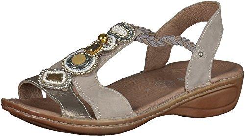 Ara Hawaii Ladies Ankle Strap Sandalen Beige