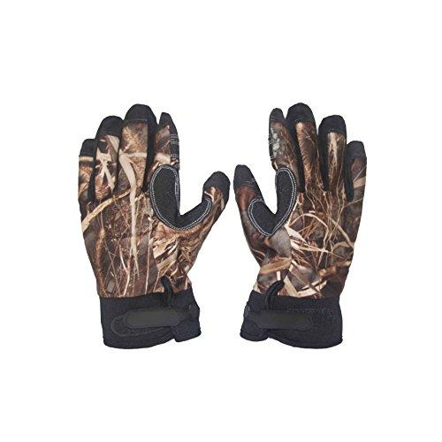(Wildfowler Outfitter Waterproof Gloves, Wild Grass, Medium)