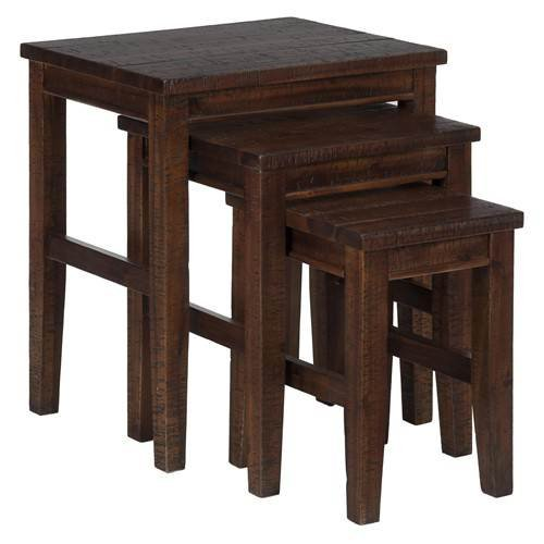 Jofran 3-Pc Casual Nesting Table Set
