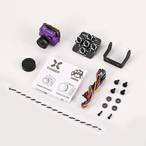 Wikiwand Foxeer Predator V2 FPV Micro Camera Cam with 1.8mm Lens OSD 1000TVL WDR NTSC by Wikiwand