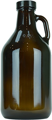 (12 pack) 32oz Amber Growler - Beer -