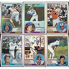 1983 Topps Baseball Complete Near Mint to Mint 792 for sale  Delivered anywhere in USA