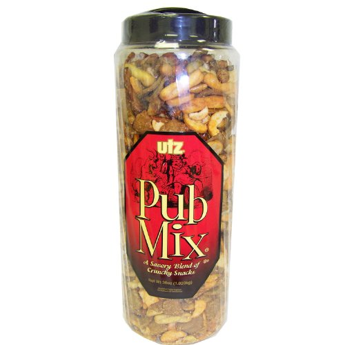 UTZ - Pub Mix A Savory Blend of crunchy Snacks, 36oz (Stix Oriental)