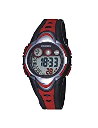 BesWlz Kids Outdoors Sport Watch Led Light Digital Waterproof Watches for Boys Girls (Red)